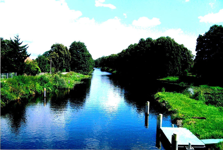 Der Finowkanal bietet ruhigeres Wasser