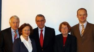 Der Vorstand 2011 Dr. R. Knauff, J. Wenzel, F. Oberbrunner, I. Wunderlich, A. Baumgärtner