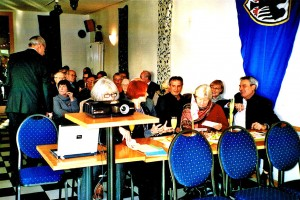 Neujahrsempfang - Frank Oberbrunner begrüßt die Teilnehmer