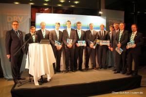 Torsten Gorski am Eröffnungsabend mit dem Deutschlandachter