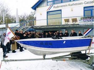 Das neue Motorboot