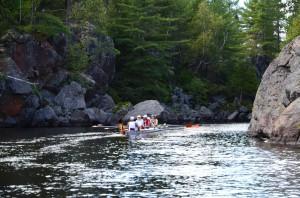 Rudi Meister erzählt von seiner Wanderfahrt in Kanada